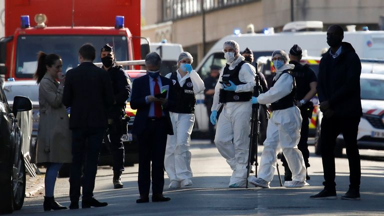 The attacker was a Tunisian national, according to a police source