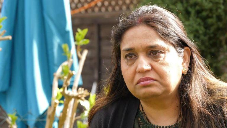 Former sub-mistress Seema Misra