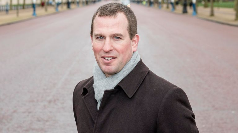 EMBARGOED TO 0001 FRIDAY JANUARY 15 Peter Phillips on The Mall in London where the Queen's grandson Peter Phillips announced the ticket price and further details about the Patron's Lunch event he is helping to organise to help celebrate the monarch's 90th birthday.