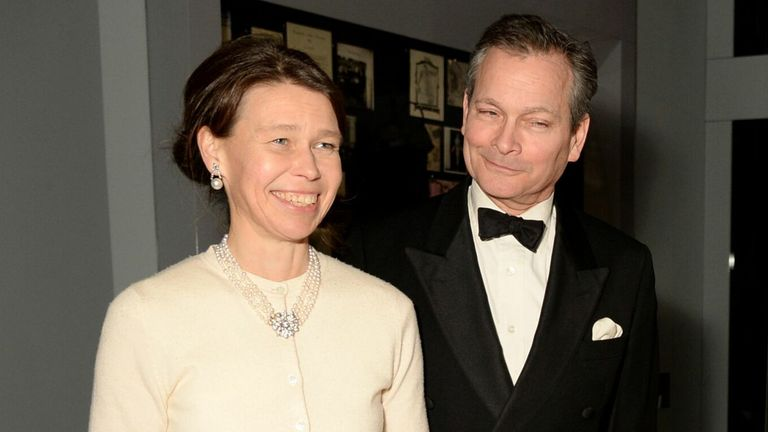 Lady Sarah Chatto and Daniel Chatto. Pic: Richard Young/Shutterstock