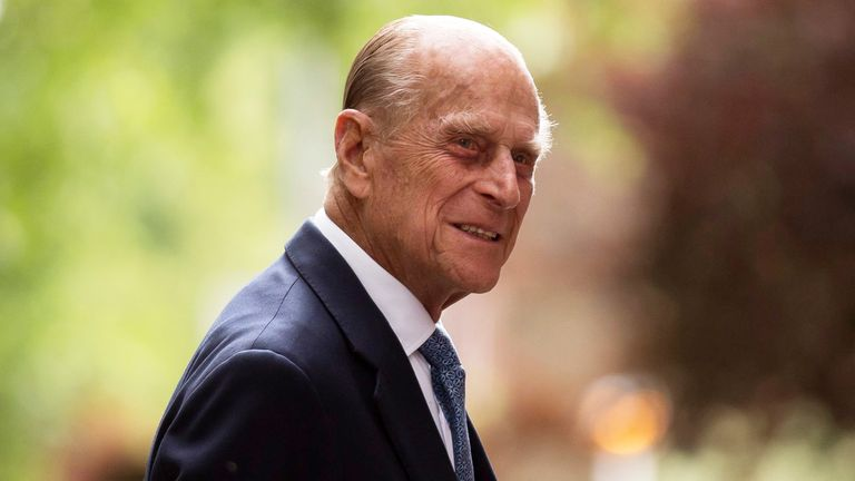 The list for Prince Philip's funeral has been released