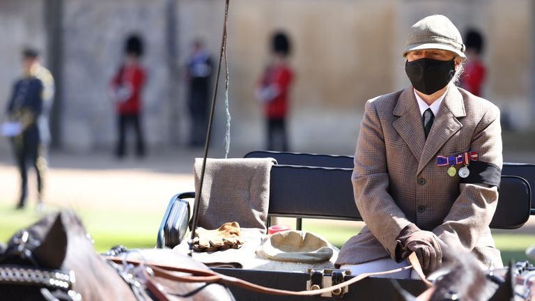 The Duke of Edinburgh's driving carriage