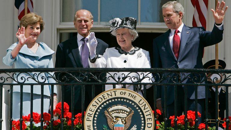 تعدادی از روسای جمهور آمریکا به شاهزاده فقید ادای احترام کرده اند