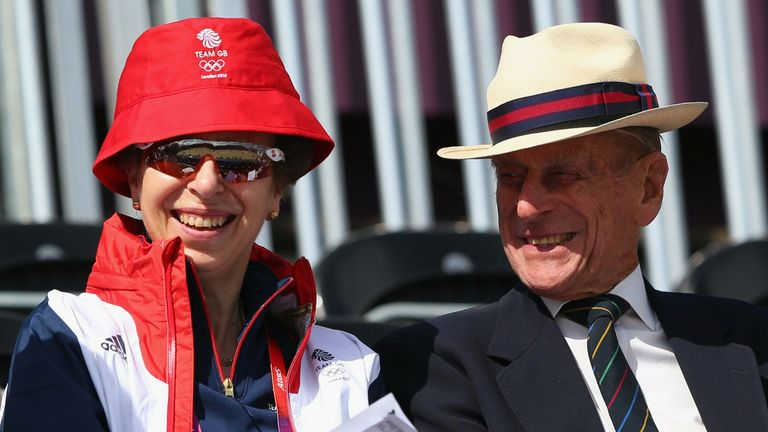 Their Royal Highnesses The Duke of Edinburgh and The Princess Royal - credit Alex Livesey, Getty Images