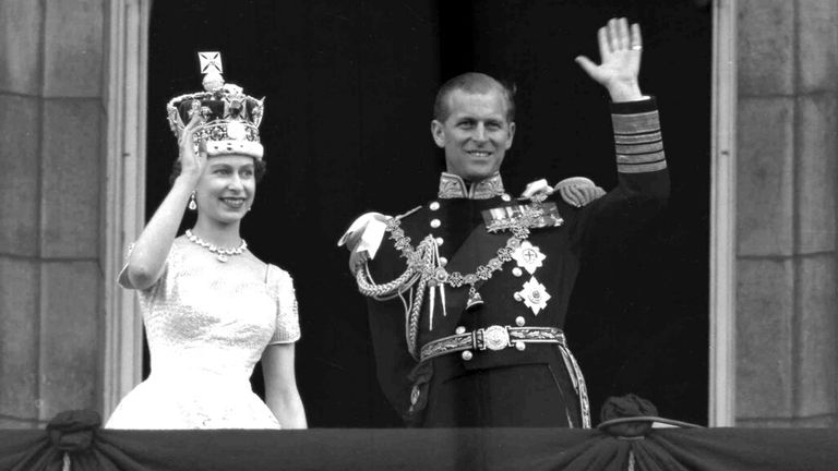 The day of the coronation - the Duke's word spurred Alastair to make his programme. Pic: AP