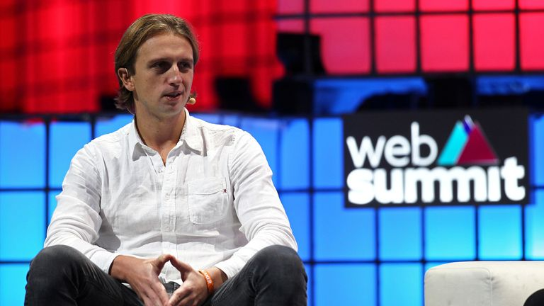 Revolut CEO, Nikolay Storonsky speaks at the Web Summit in Lisbon