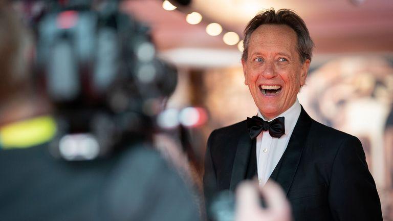 Richard E Grant presented an award at the BAFTAs. Pic: BAFTA/Reuters