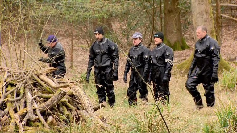 Specialist search officers are continuing to scour Epping Forest