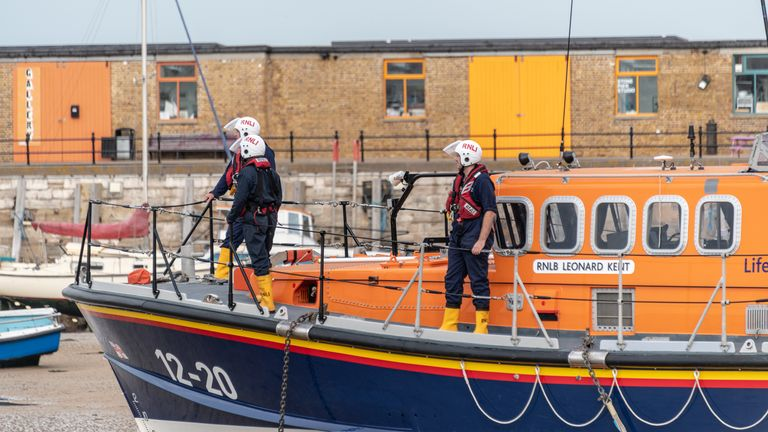 The RNLI is expecting a busy summer 2021 as more people plan on having staycations along the coast