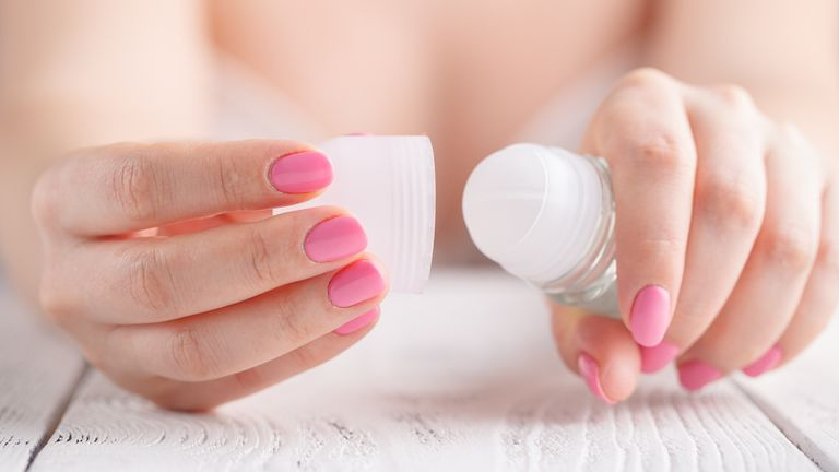 Scientists are urging people to use roll-on deodorants instead of sprays