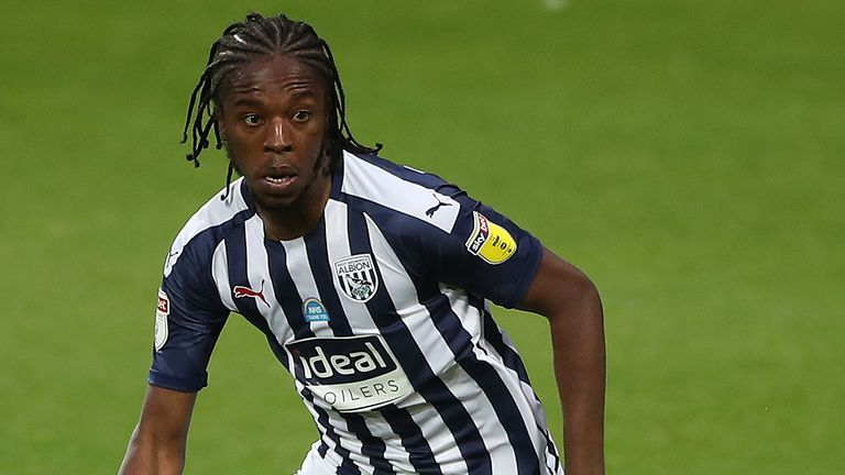 West Bromwich Albion's Romaine Sawyers