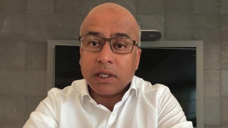 Sanjeev Gupta, boss of Liberty Steel, speaks to Sky News 1/4/21