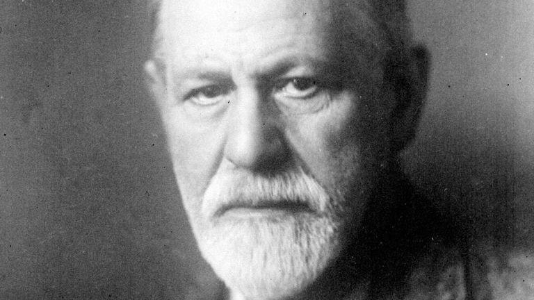 Portrait of the Austrian psychiatrist Sigmund Freud (1856-1939), originator of psychoanalysis. 10/12/1924