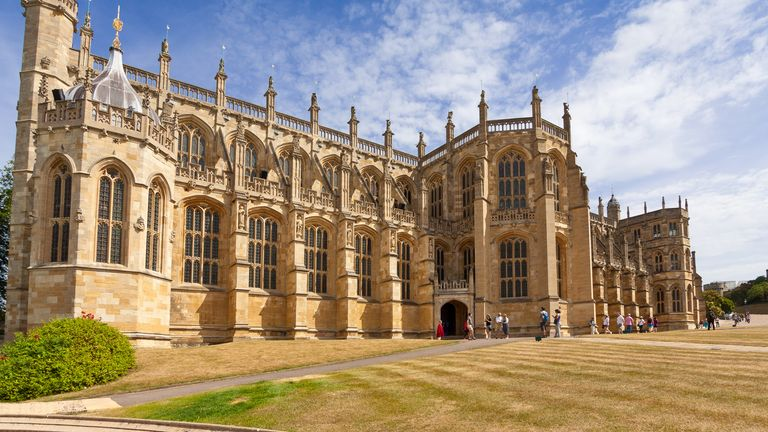 The ceremonial funeral will take place in St George's Chapel in Windsor