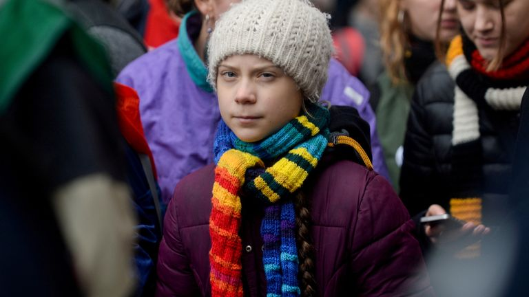 Greta Thunberg has changed her Twitter description