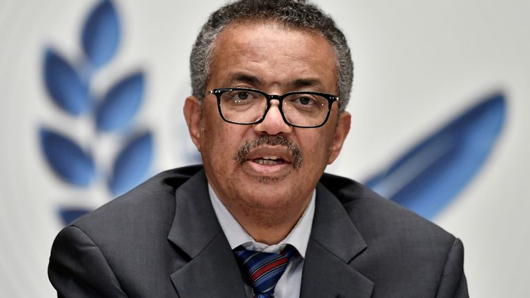 Tedros Adhanom Ghebreyesus has said there is a 'shocking imbalance' in the global distribution of vaccines