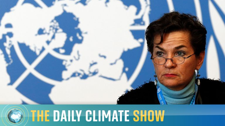 Ex-UN Climate Chief, Christiana Figueres,