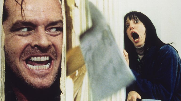 Jack Nicholson and Shelley Duvall. Pic: Warner Bros/Hawk Films/Kobal/Shutterstock