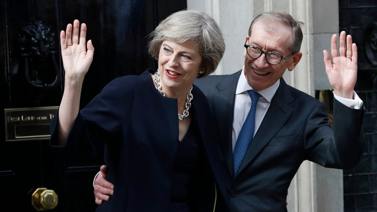 Theresa and Philip May spent less than half their annual allowance in three years