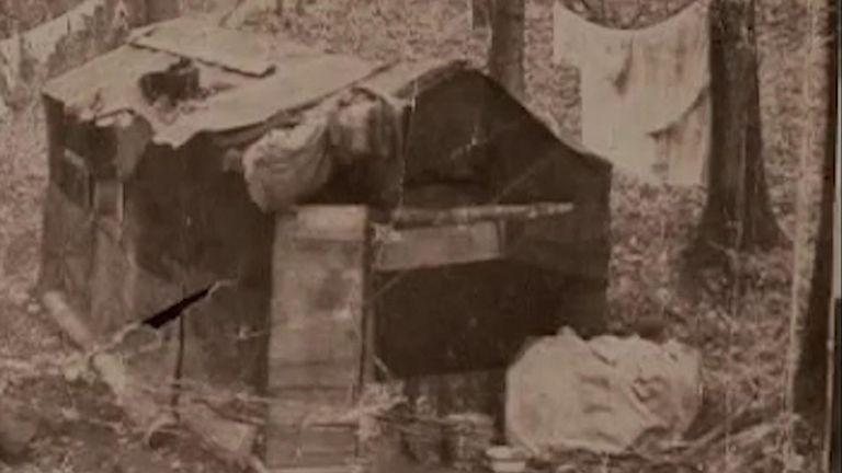 'Tinker experiment' huts