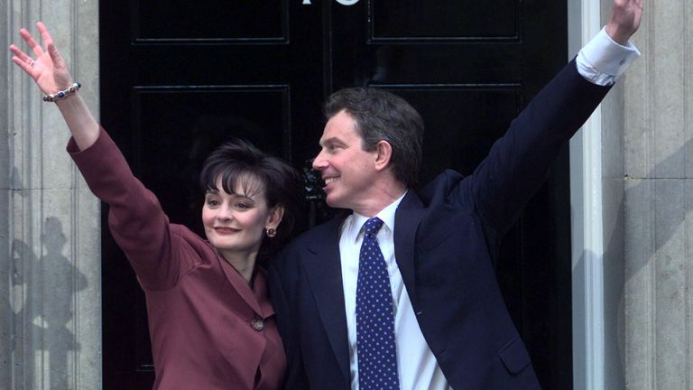 Tony and Cherie Blair spent the most amount of taxpayer's money on refurbishing No 11