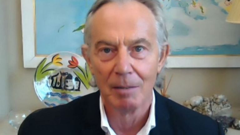 Tony Blair wants to eliminate vaccine hesitancy