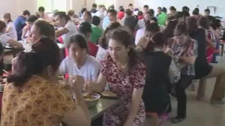 Uighurs in Shandong shown celebrating the festival of Eid-al-Adha on Chinese state media
