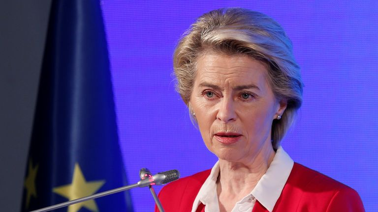 Ms von der Leyen has full confidence in the Pfizer vaccine