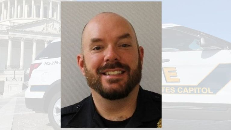 Police officer William 'Billy' Evans died in the attack on the US Capitol building