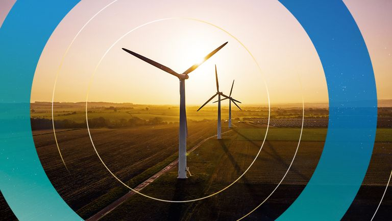 The UK aims to become a leading provider of wind power