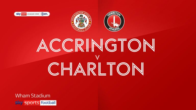Highlights of the Sky Bet League One between Accrington Stanley and Charlton Athletic