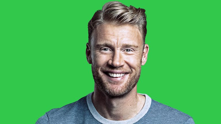 Former England star Andrew Flintoff will be one of Sky Sports' presenters during the new Hundred competition this summer