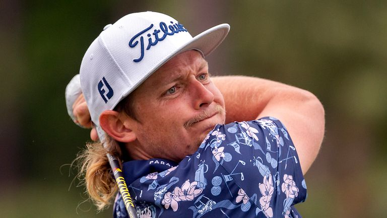 RBC Heritage: Cam Smith leads after 62, Matt Wallace and Collin Morikawa three