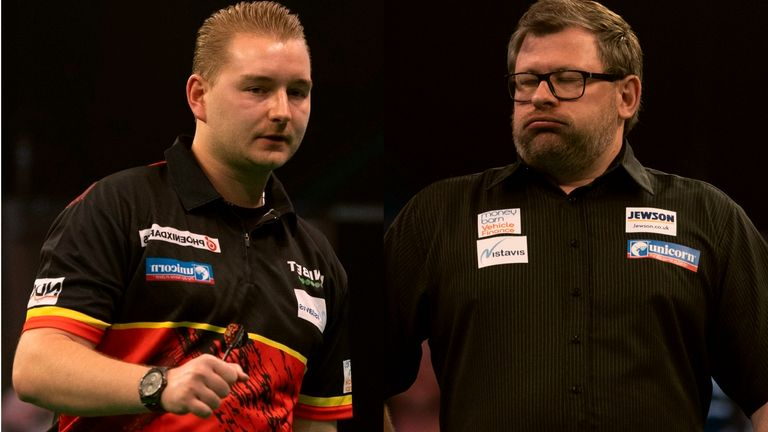 Dimitri Van den Bergh vs James Wade - Premier League Darts
