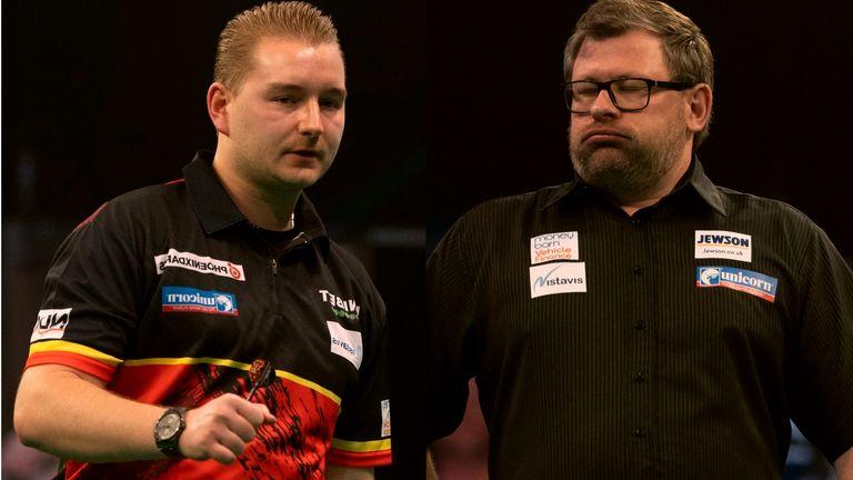 Dimitri Van den Bergh vs James Wade - Premier League Darts