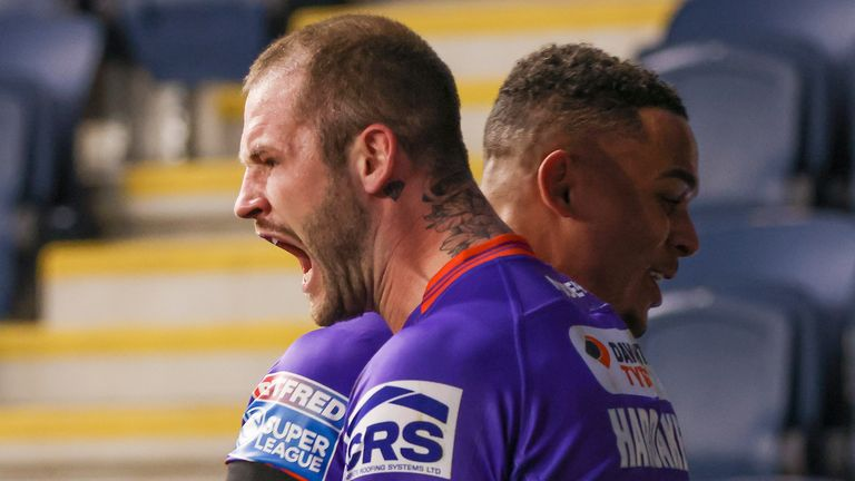 Zak Hardaker produced this brilliant touchdown in Wigan's recent win over Leeds Rhinos.