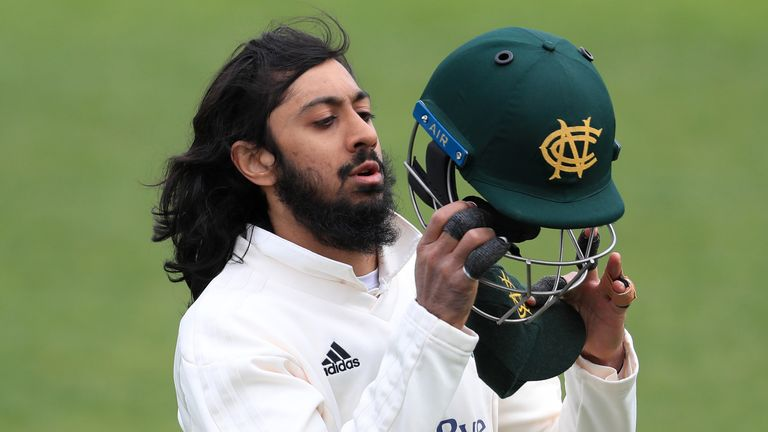 Mike Atherton hopes Haseeb Hameed will go from strength-to-strength at Nottinghamshire after the opener's strong start to the county season