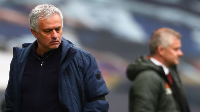 Tottenham's decision to sack Jose Mourinho was results-based and nothing to do with the European Super League, Paul Gilmour reports