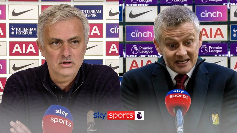 Jose Mourinho reacted angrily to comments made by Ole Gunnar Solskjaer about Heung-min Son