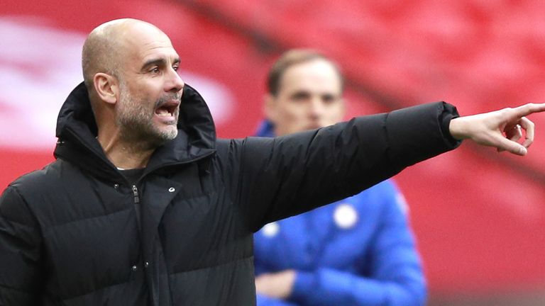 Manchester City boss Pep Guardiola has been giving his view on the proposals for a European Super League