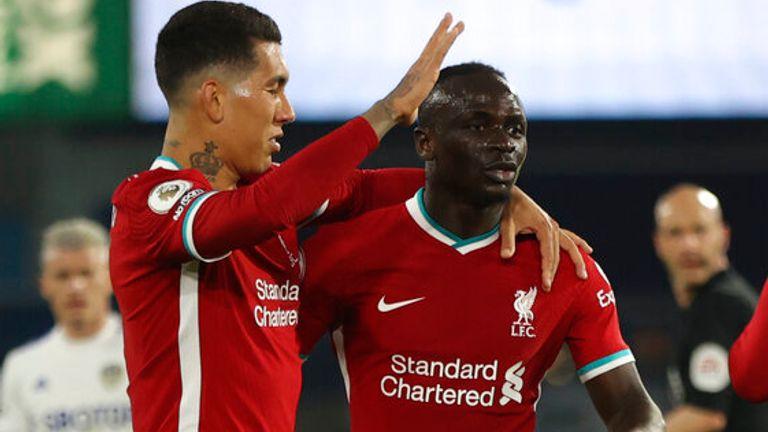 Sadio Mane put Liverpool in front