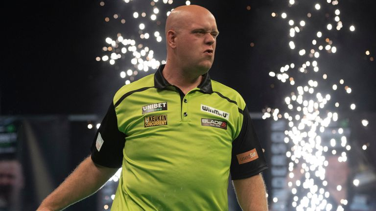 Michael van Gerwen said it was always nice to beat Peter Wright after he recorded a 7-2 victory on Night 2 of the Premier League