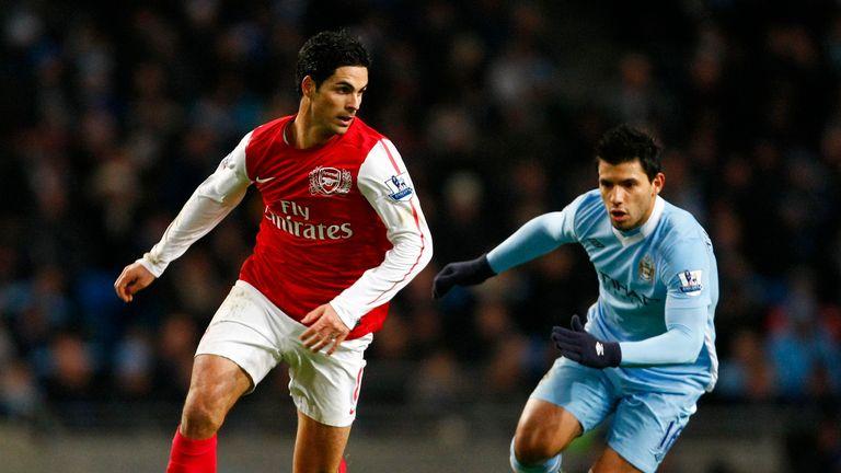 Arteta: Sad to see Aguero leave Man City