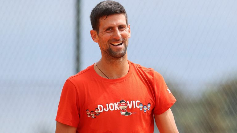 Novak Djokovic described spending the most weeks as world No 1 as probably his 'biggest achievement' in his career