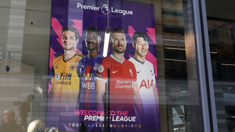 A view of Premier League HQ in London (AP)