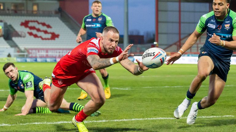 Highlights of the Betfred Super League game between Hull KR and Huddersfield
