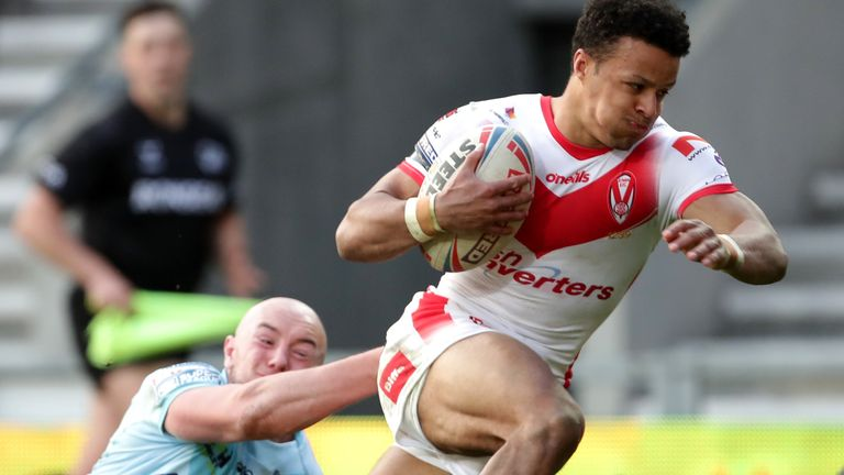 All the tries from the Totally Wicked Stadium last week as St Helens ran out 34-6 winners against Wakefield Trinity.