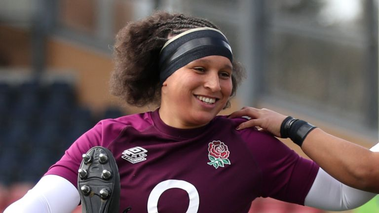 England's Shaunagh Brown is confident the Red Roses will find their best form as they aim to win a third consecutive Six Nations title against France on Saturday