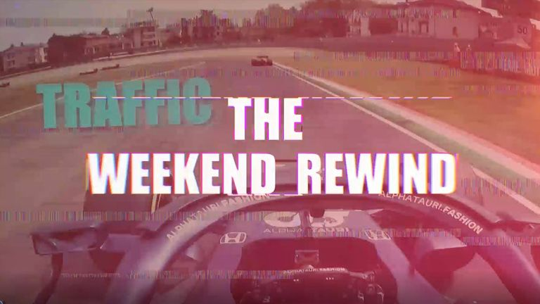Check out all the best bits from our coverage - and beyond - from the Emilia Romagna GP as we bring you another Sky Sports F1 Weekend Rewind!