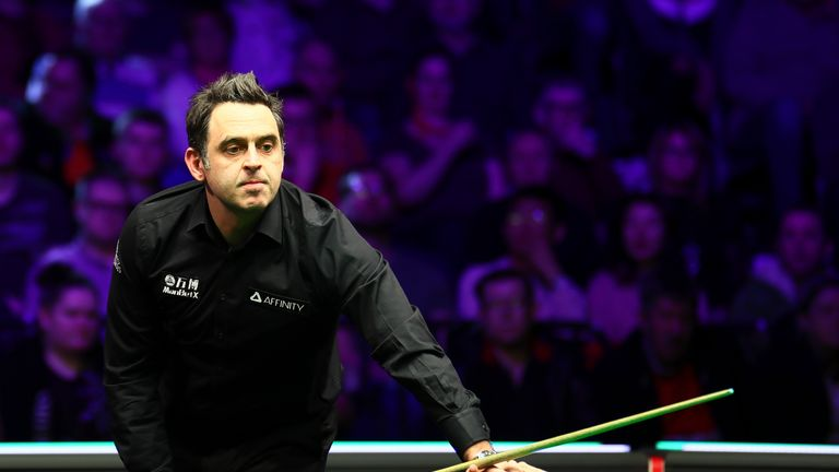 Wilson says playing Ronnie O'Sullivan in last year's final was something he had always dreamed of
